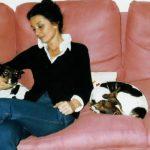 Audrey Hepburn y sus perros Jack Russell