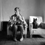 David Bowie y sus perros