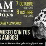 Los perros podrán visitar también el Museo Europeo de Arte Moderno